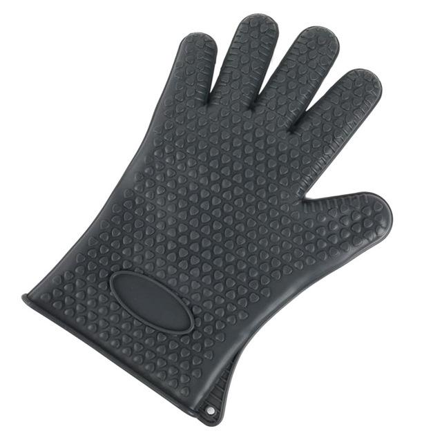 Shopedian United States / Grey Heat Resistant Grill Gloves