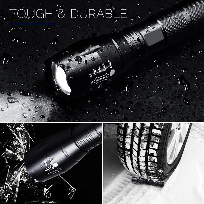 High Power Super Bright Tactical Flashlight