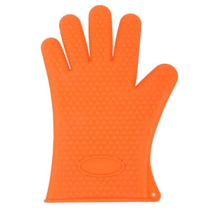 Shopedian United States / Orange Heat Resistant Grill Gloves