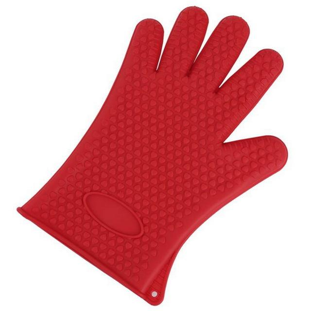 Shopedian United States / Red Heat Resistant Grill Gloves
