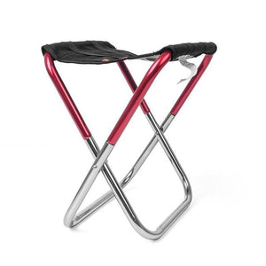 Shopedian United States / Red Ultra Light Weight Portable Chair
