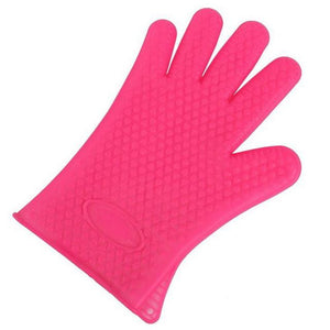 Shopedian United States / Rose Red Heat Resistant Grill Gloves