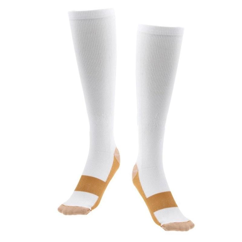 Shopedian white / Australia / S/M (42-44) Anti-Fatigue Compression Socks
