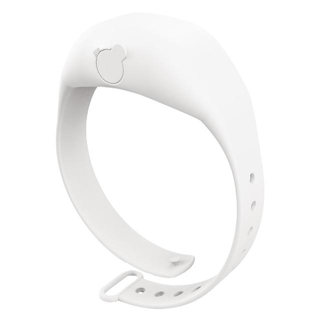 Shopedian White / United States Sanitizer Wristband Dispenser