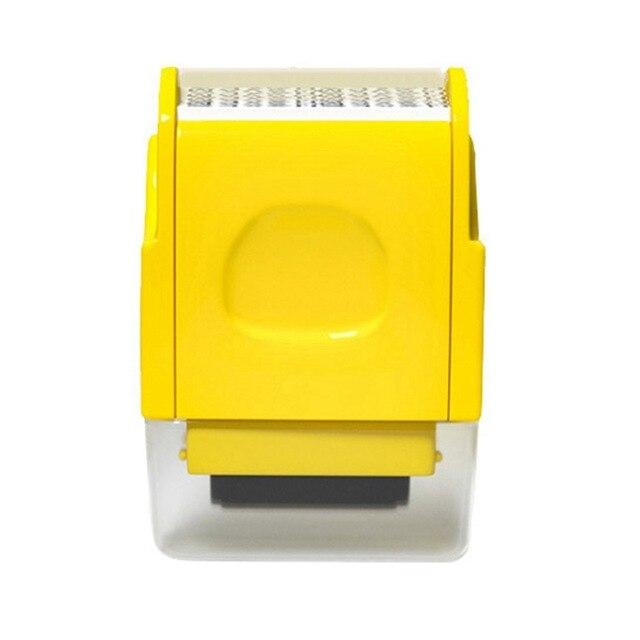 Shopedian Yellow / United States Identity Theft Protection Roller Stamp