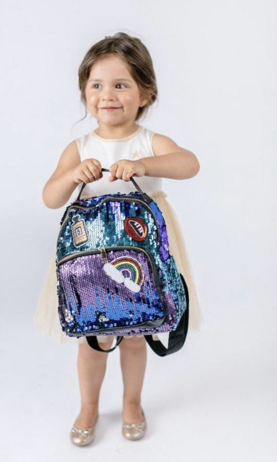 Cali Sequin Backpack