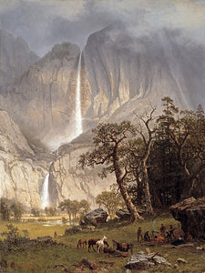 Albert Bierstadt Cho-looke, the Yosemite Fall