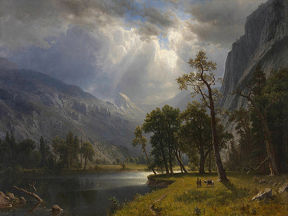 Albert Bierstadt Half Dome, Yosemite Valley