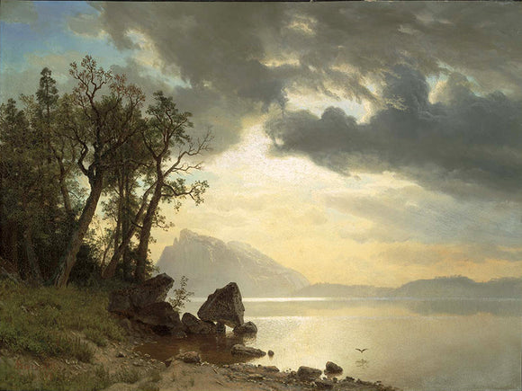 Albert Bierstadt Lake Tahoe California