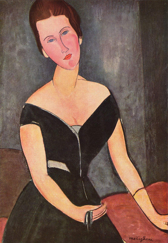 Madame Van Muyden Amedeo Modigliani Painting Reproduction