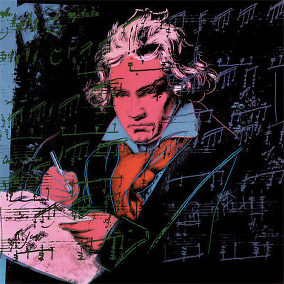 Andy Warhol Beethoven-Pink-Book Pop Art
