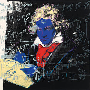 Andy Warhol Beethoven-Yellow-Book Pop Art