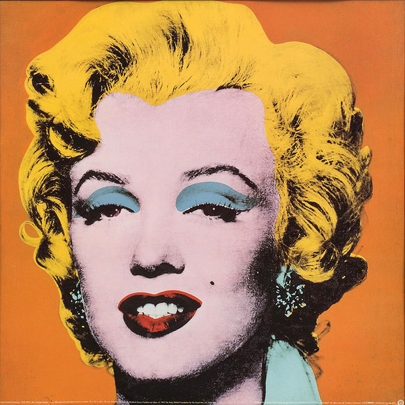 Andy Warhol Marilyn Monroe Orange Pop Art