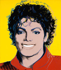 Andy Warhol Michael Jackson Pop Art