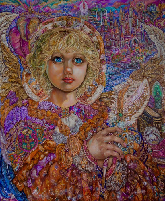 Yumi Sugai Archangel Metatron Oil Painting Reproduction