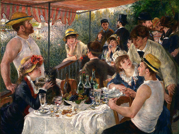 Auguste Renoir Luncheon of the Boating Party