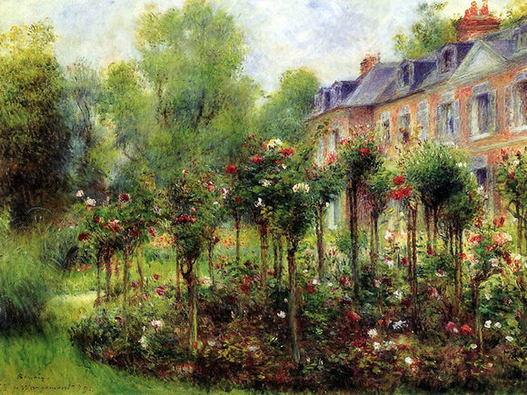 Auguste Renoir The Rose Garden at Wargemont, 1879