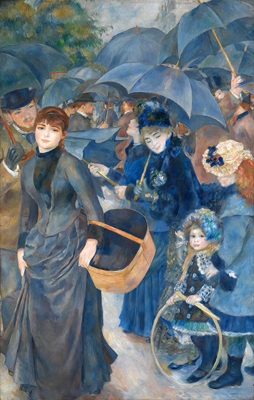 Auguste Renoir The Umbrellas Painting