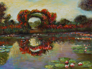 Blutentore in Giverny Claude Monet Famous Painting