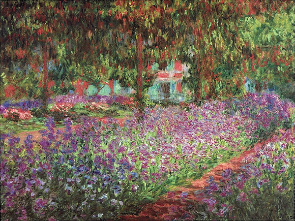 Claude Monet Artist's Garden at Giverny Painting