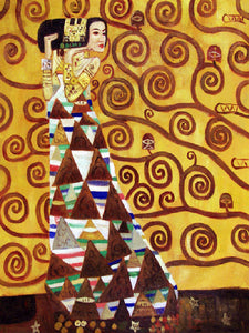 Expectation Gustav Klimt Famous Painting Reproduction