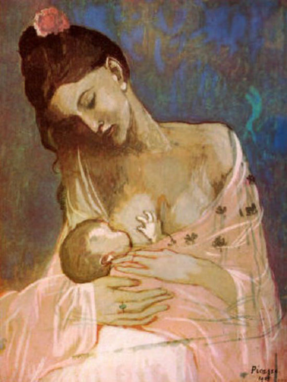 Famous Picasso Maternity Painting Reproduction