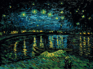 Starry Night Over the Rhone Vincent Van Gogh