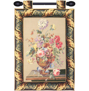 Still life European Tapestry Wall Hanging