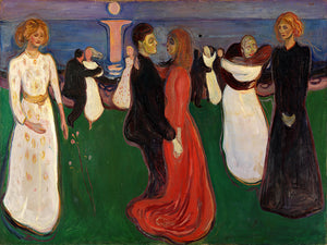 The Dance of Life Edvard Munch Oil Painting Reproduction