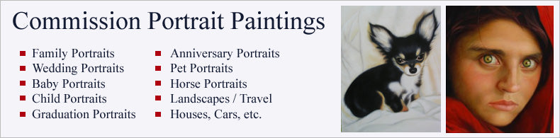 portrait painting service