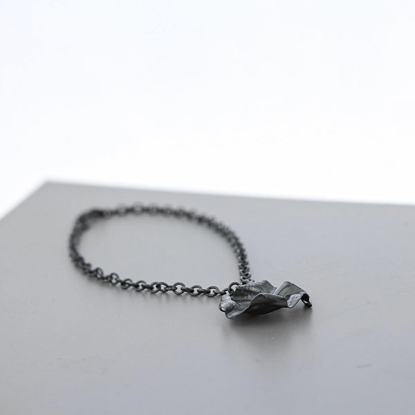 Decorative Concepts: charm bracelet, oxidised silver