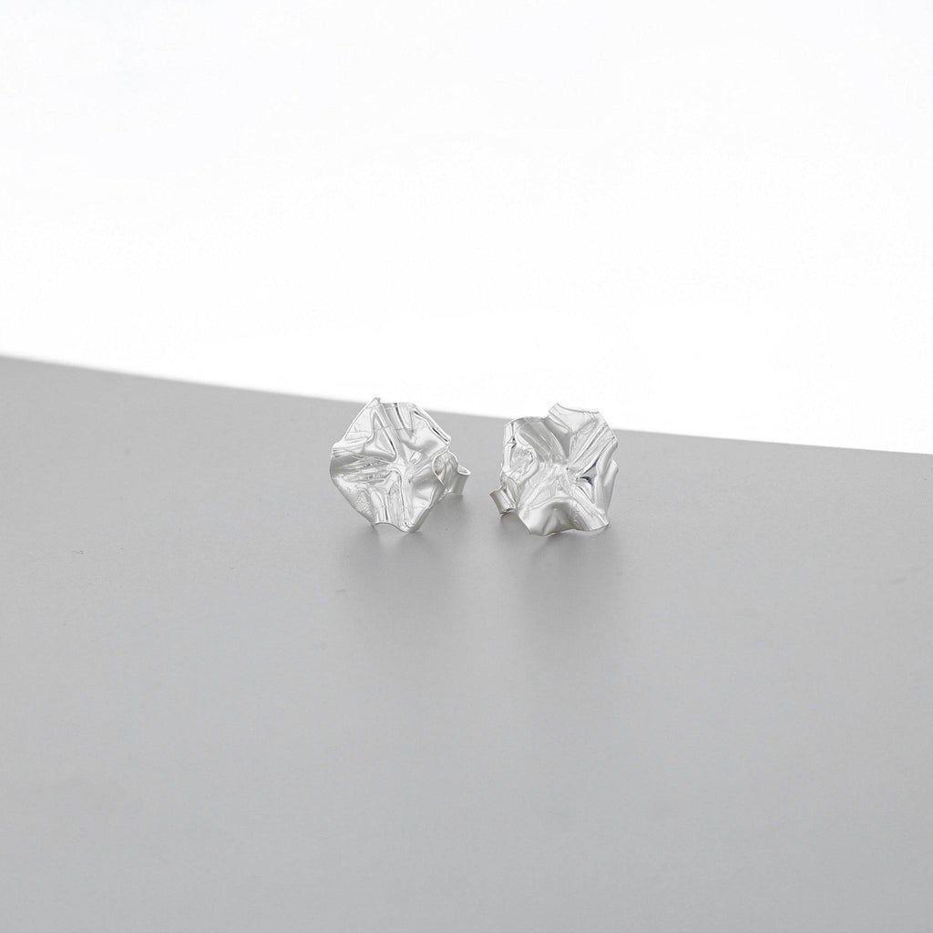 Decorative Concepts: medium earrings, silver - Mari Thomas Jewellery