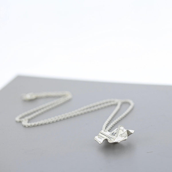 Decorative Concepts: small pendant, silver - Mari Thomas Jewellery