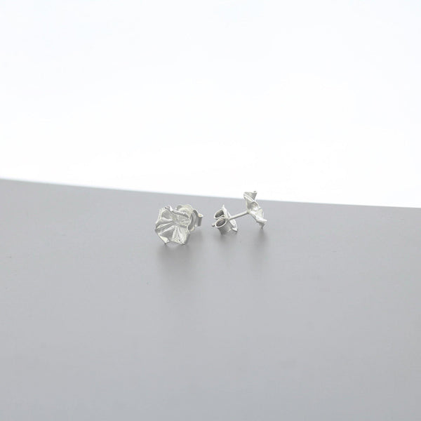 Decorative Concepts: small earrings, silver