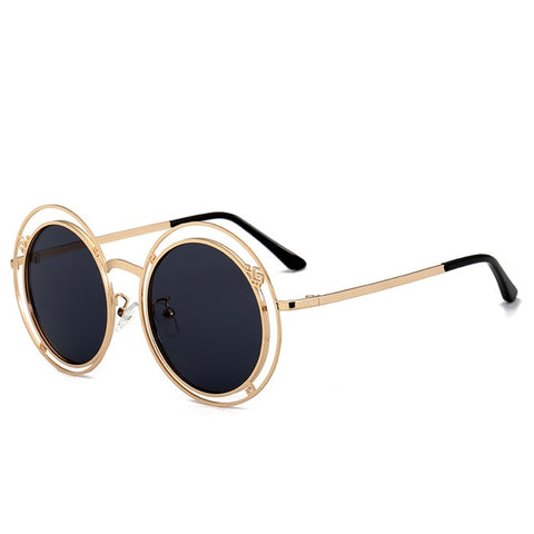 Double Circle Round Sunglasses