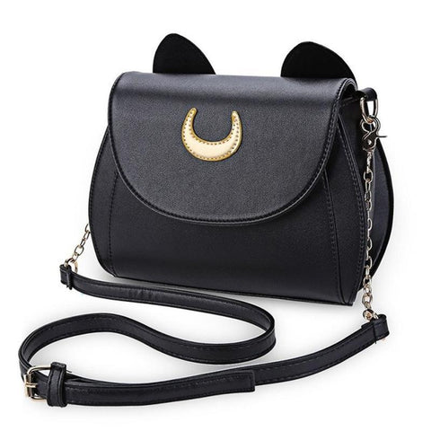 Moon Cat Cross Body Bag
