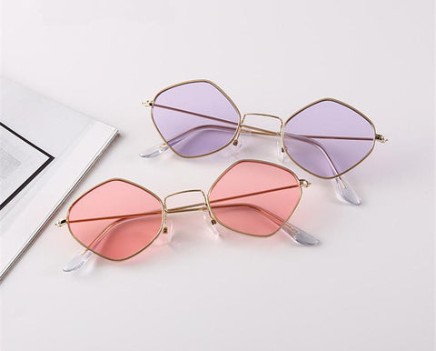 Groove Polygon Sunglasses
