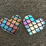 Rainbow Scales Nipple Covers