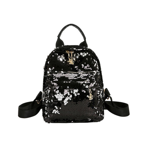 Alicia Glitter Bling Mini Backpack