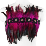 Feather Bandeau Top