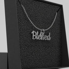 Load image into Gallery viewer, Blessed Necklace Faith Christian Necklace