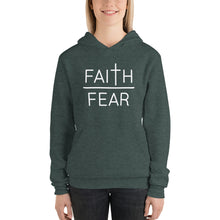 Load image into Gallery viewer, Faith Over Fear Unisex hoodie