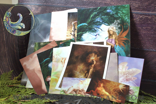 A Pagan World - Set de Cartes Postales et Aimants Uniques