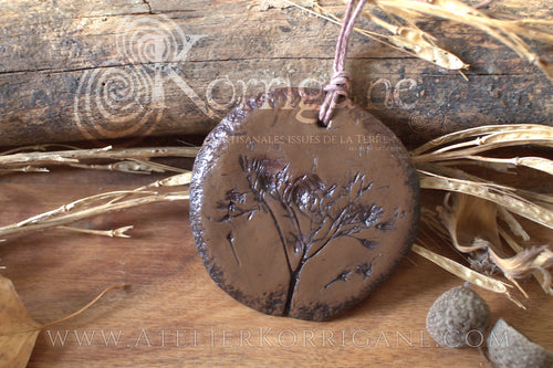 Collier Totem Woodlands Plante