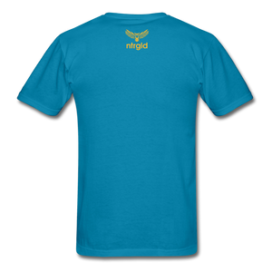 Ashy Definition (black) - Unisex T-Shirt - turquoise