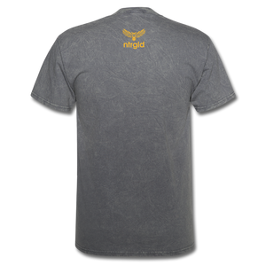 Ashy Definition (black) - Unisex T-Shirt - mineral charcoal gray