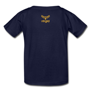 You Smell Like Outside - Kids' T-Shirt - navy