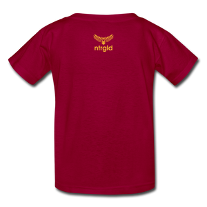 You Smell Like Outside - Kids' T-Shirt - dark red