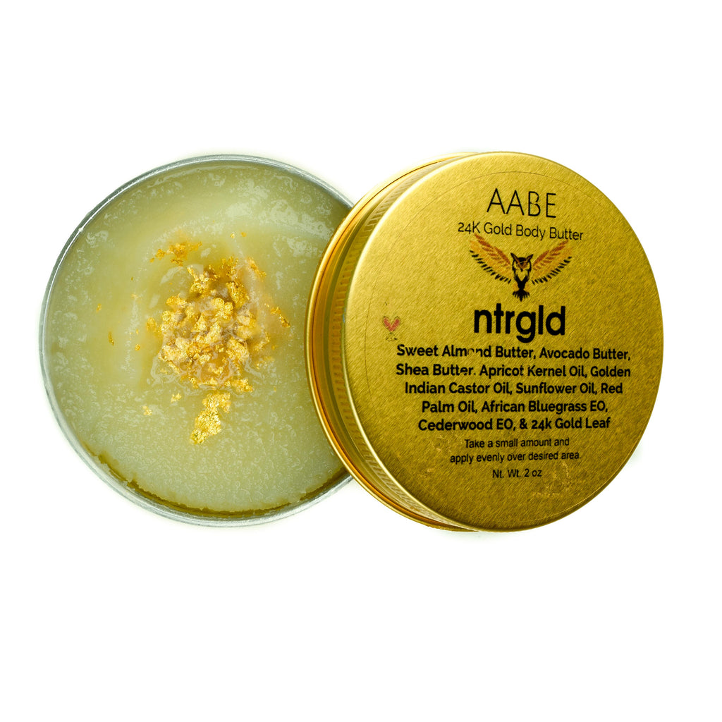 AABE - 24k Gold Hair & Body Butter (Limited Edition) - Neter Gold