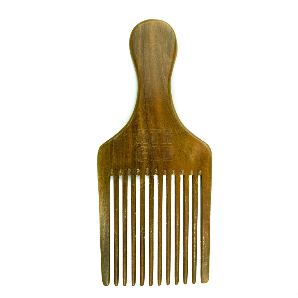 Afro Power Pick Comb - Neter Gold - NTRGLD